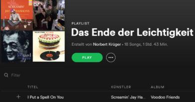 """Die Musik im """"Ende der Leichtigkeit"""""""
